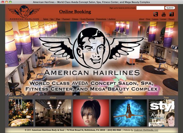 American Hairlines v2.0 launched