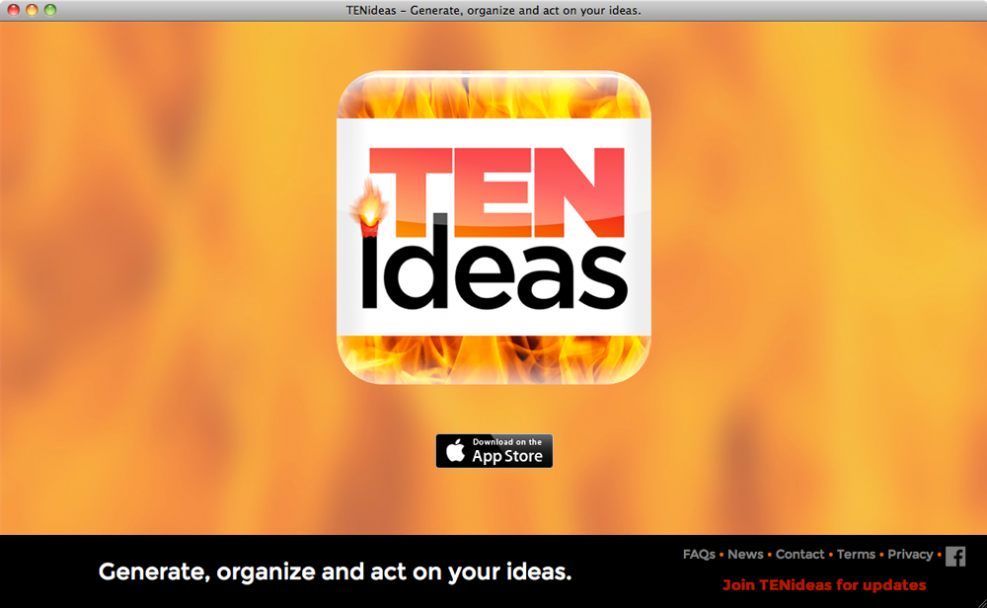 TENideas website launch