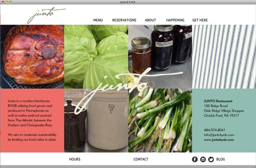 Website Development for Junto BYOB