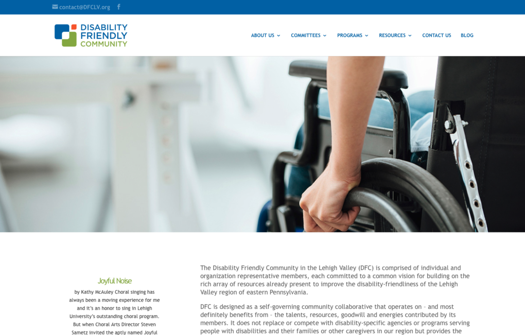 Disability Friendly Community of Lehigh Valley
