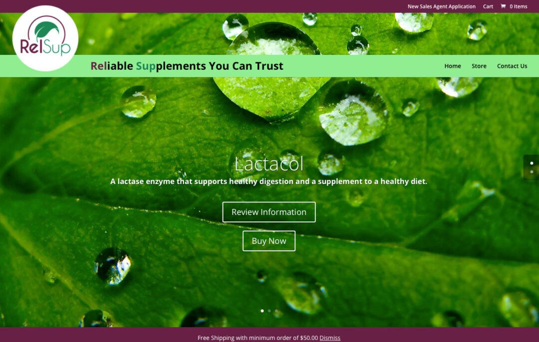 RelsUp E-commerce Website