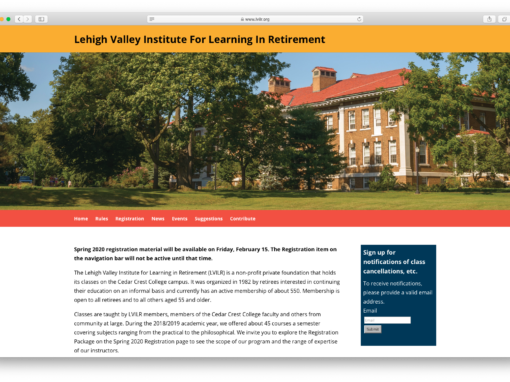 Lehigh Valley Institute for Learning in Retirement