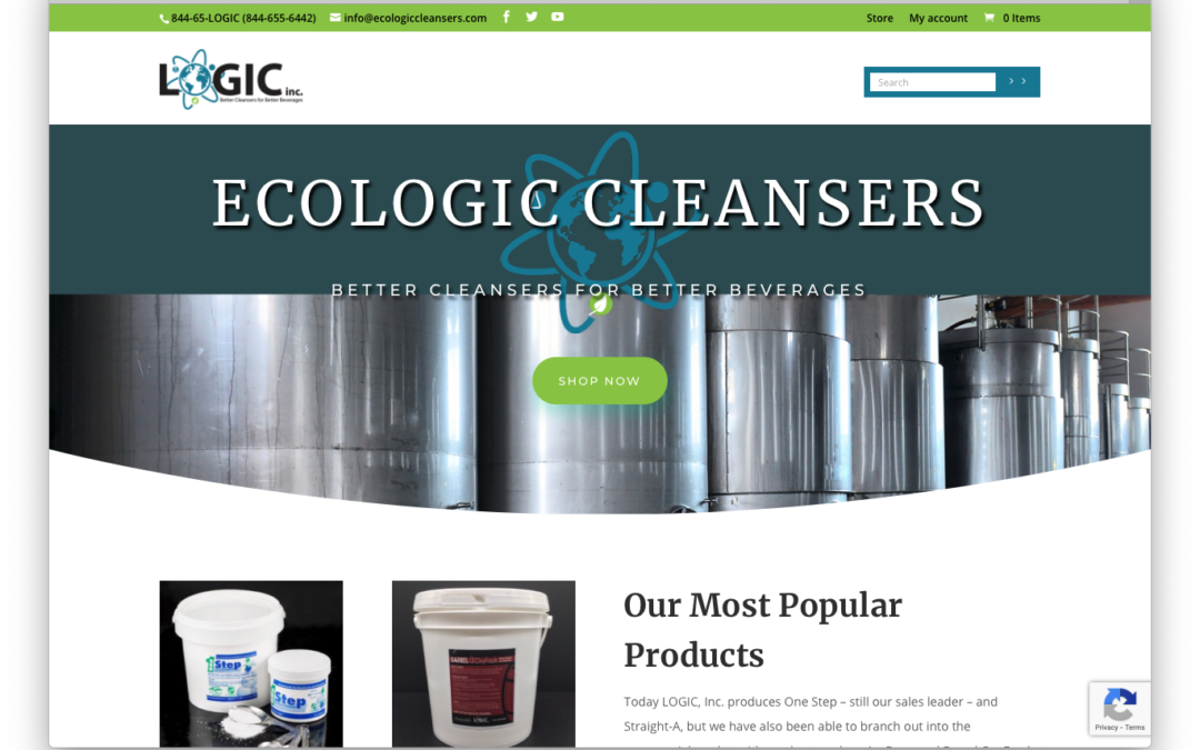 New E-commerce launch for Logic Cleansers